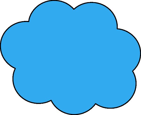 Blue Cloud Clip art - ...