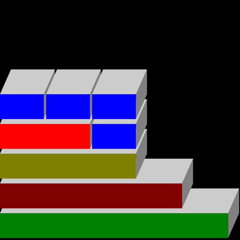 Boxes For Diagram SVG Clip arts