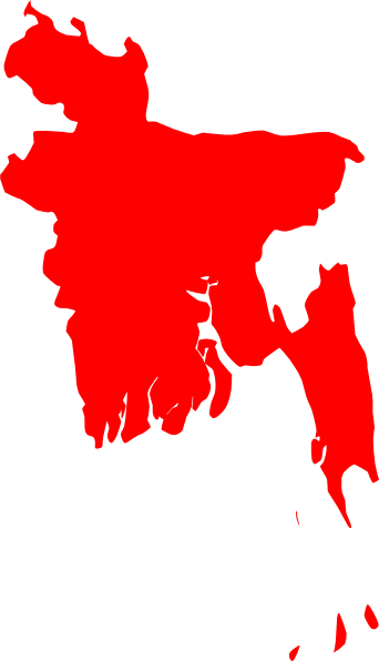 Map Of Bangladesh SVG Clip arts