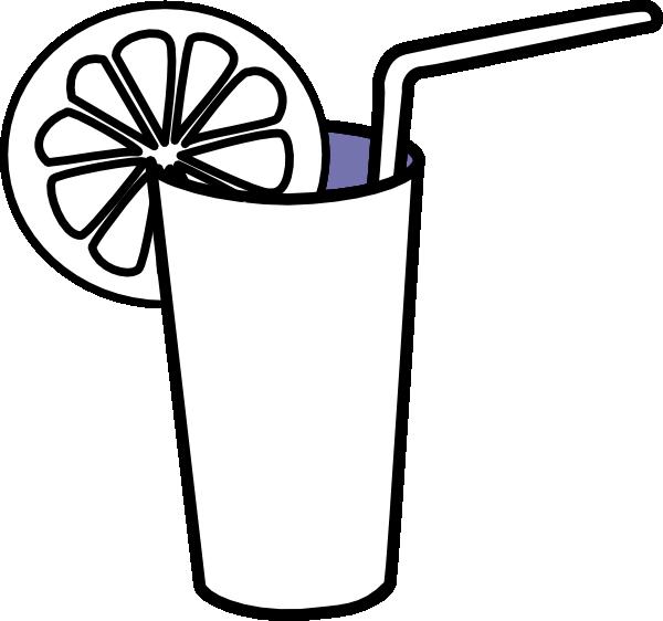 Lemonade Glass SVG Clip arts