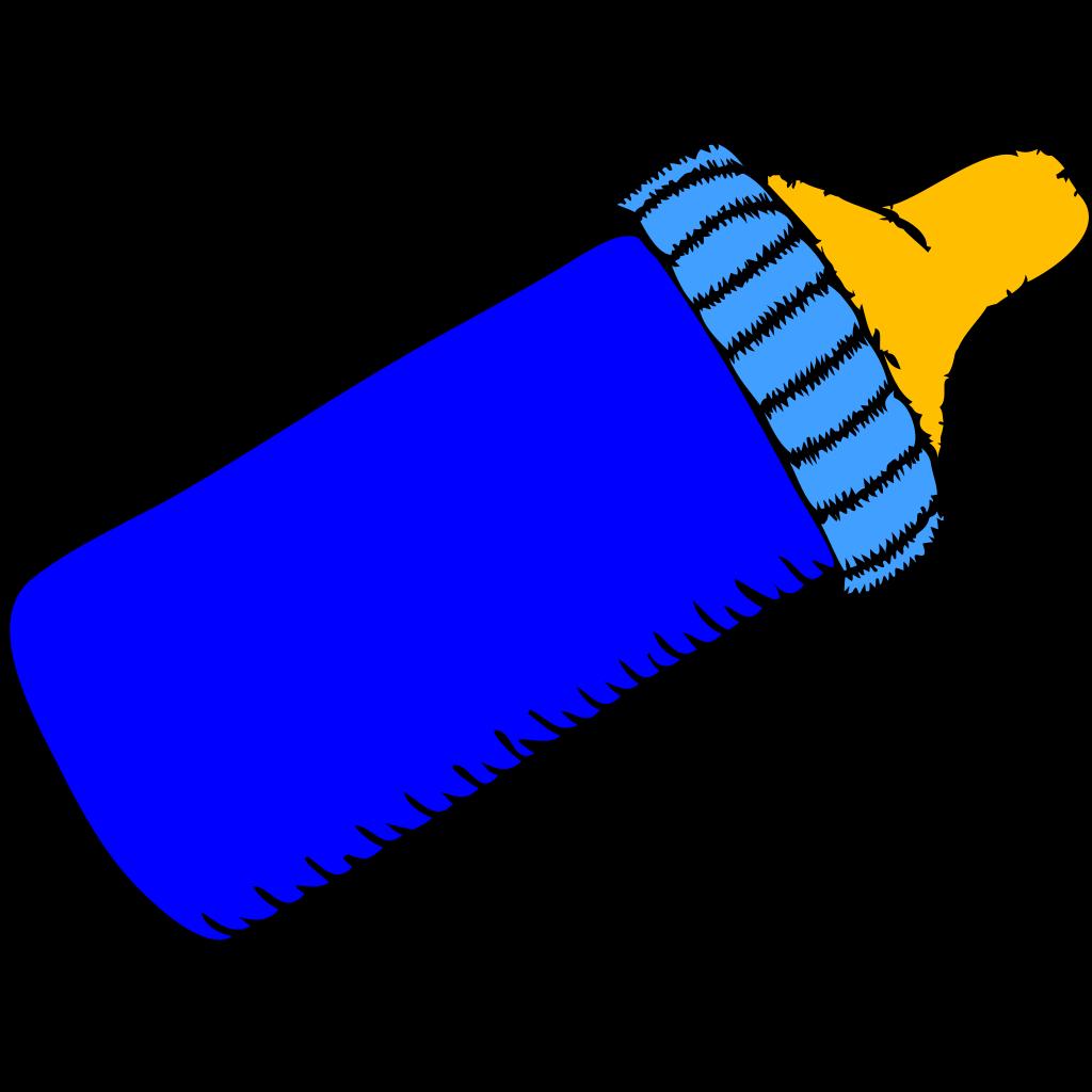 Baby Bottle Blue PNG, SVG Clip art for Web - Download Clip ...