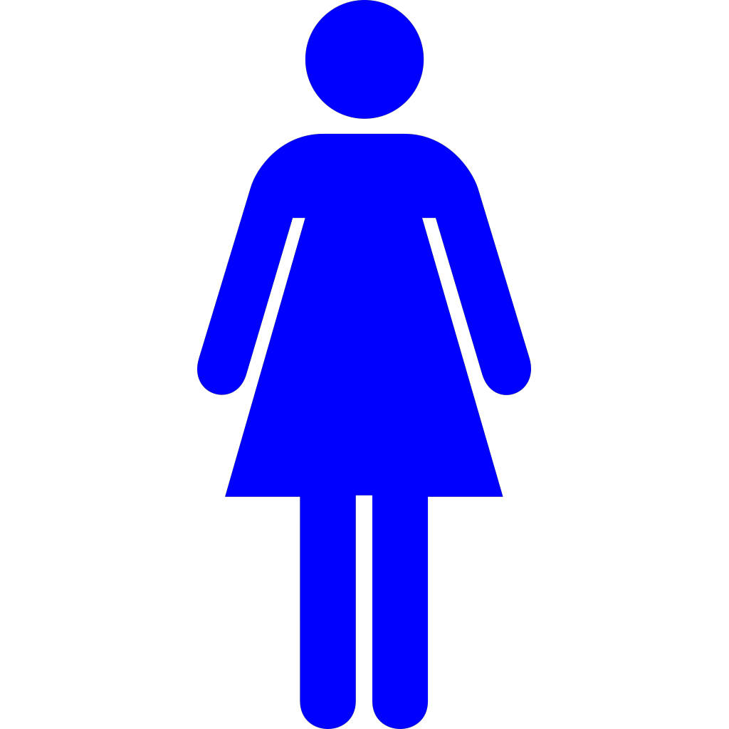 Blue Women svg