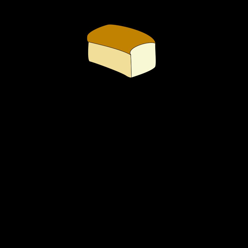 Loaf Of Bread SVG Clip arts