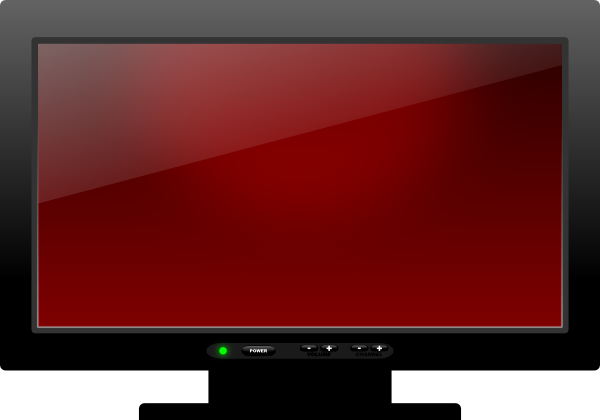 Plasma Tv SVG Clip arts