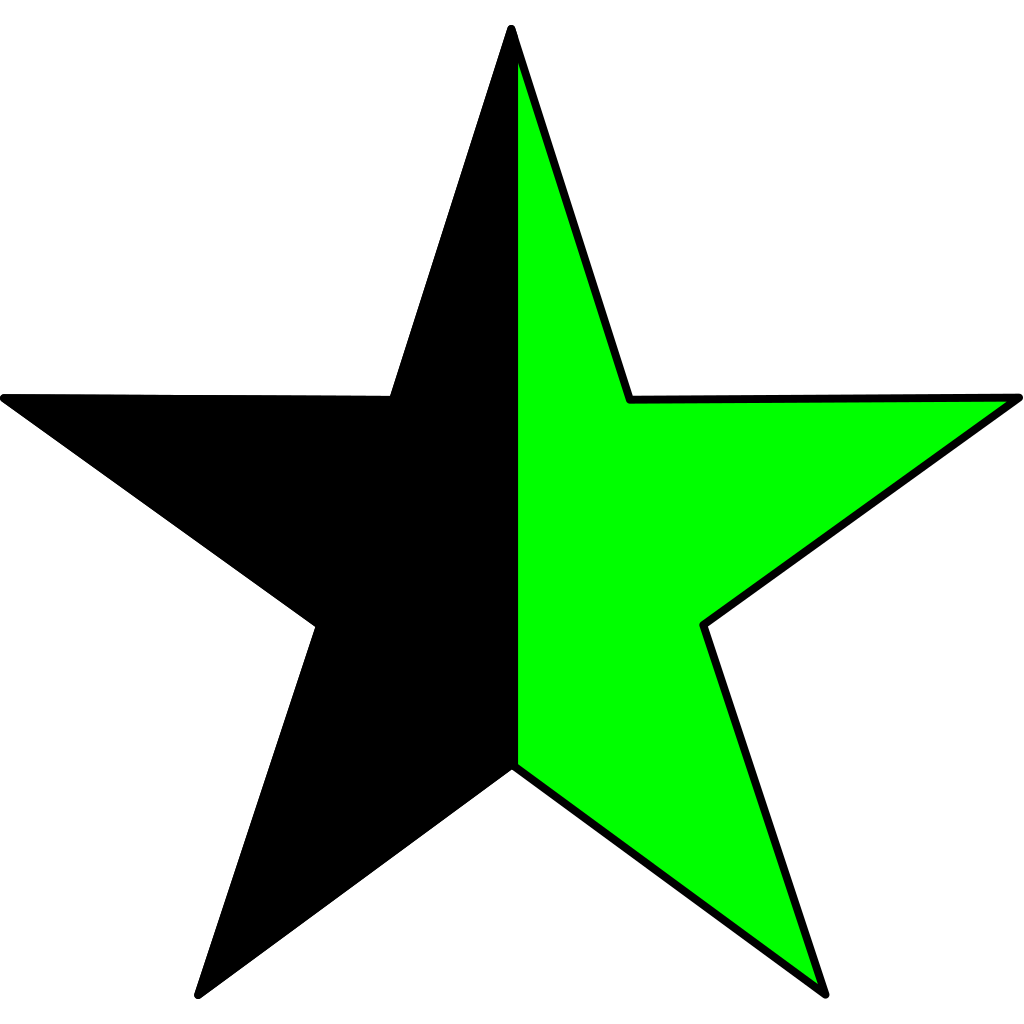 Green Anarchism SVG Clip arts