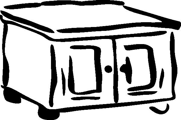 Chest Cabinet SVG Clip arts