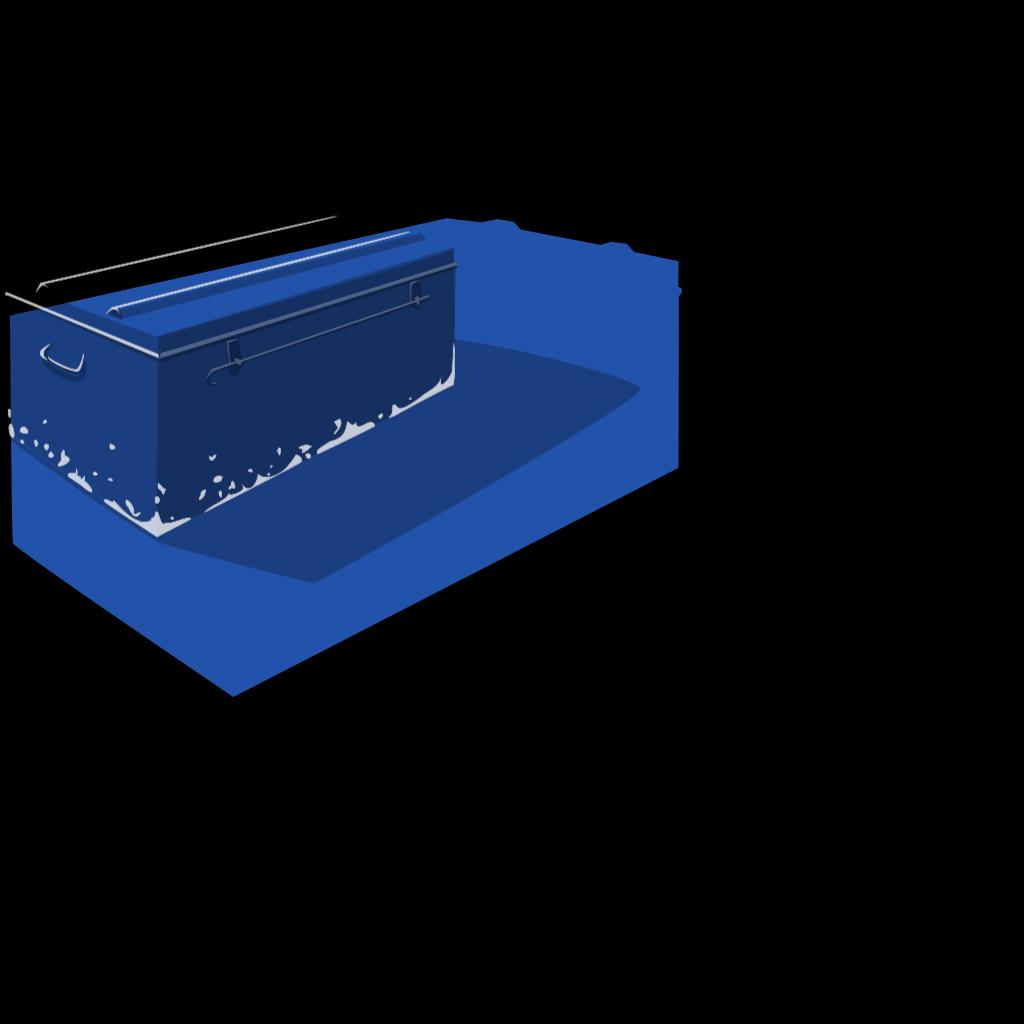 Metal Box SVG Clip arts