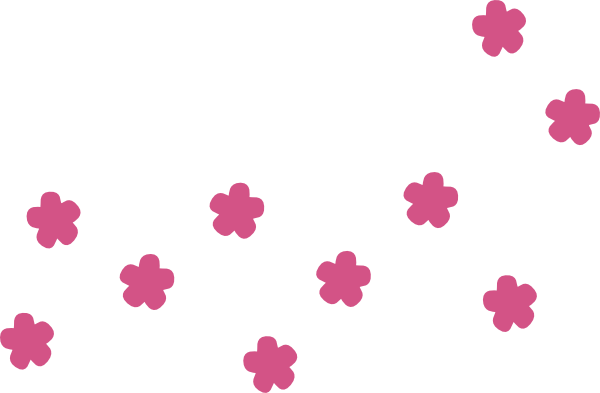 Rain Flowers SVG Clip arts