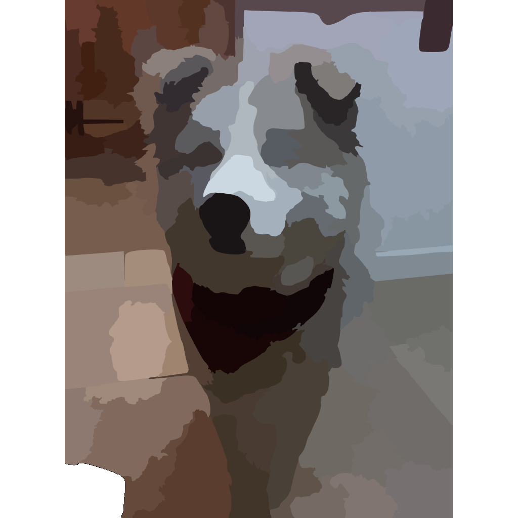 Blurred Pet Photo SVG Clip arts