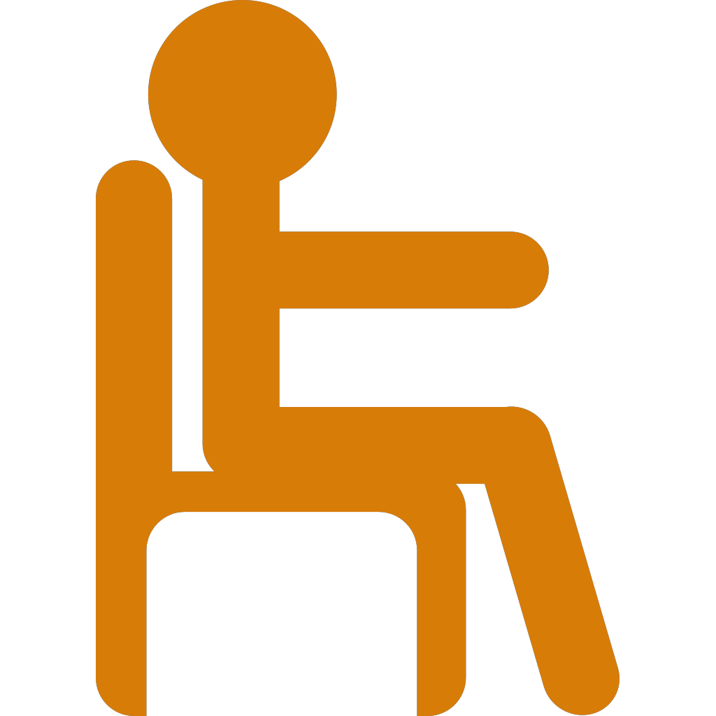 Person In Chair SVG Clip arts