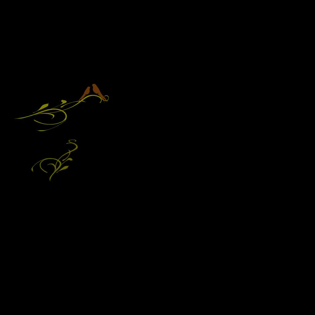 Kj Love Birds SVG Clip arts