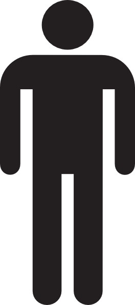 Man Silhouette SVG Clip arts