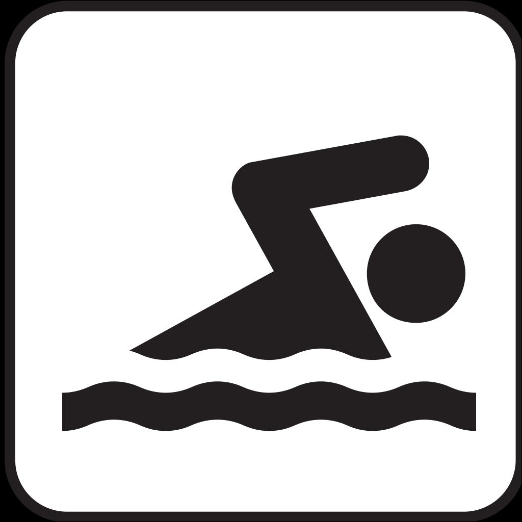 Swimming SVG Clip arts