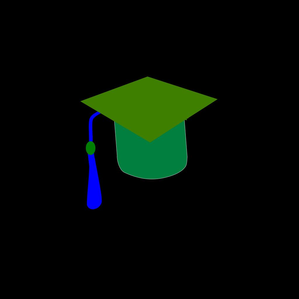 Blue Green Graduaction SVG Clip arts
