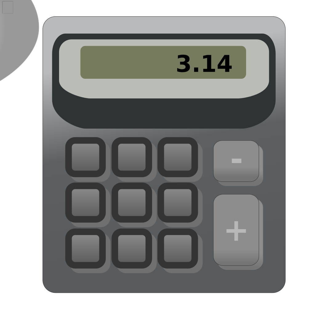 Accessories Calculator svg