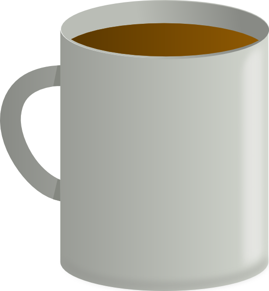 Coffee Cup From Top SVG Clip arts