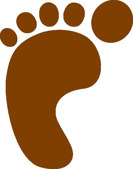 Foot Print SVG Clip arts