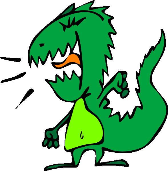 Dinosaur Cartoon SVG Clip arts