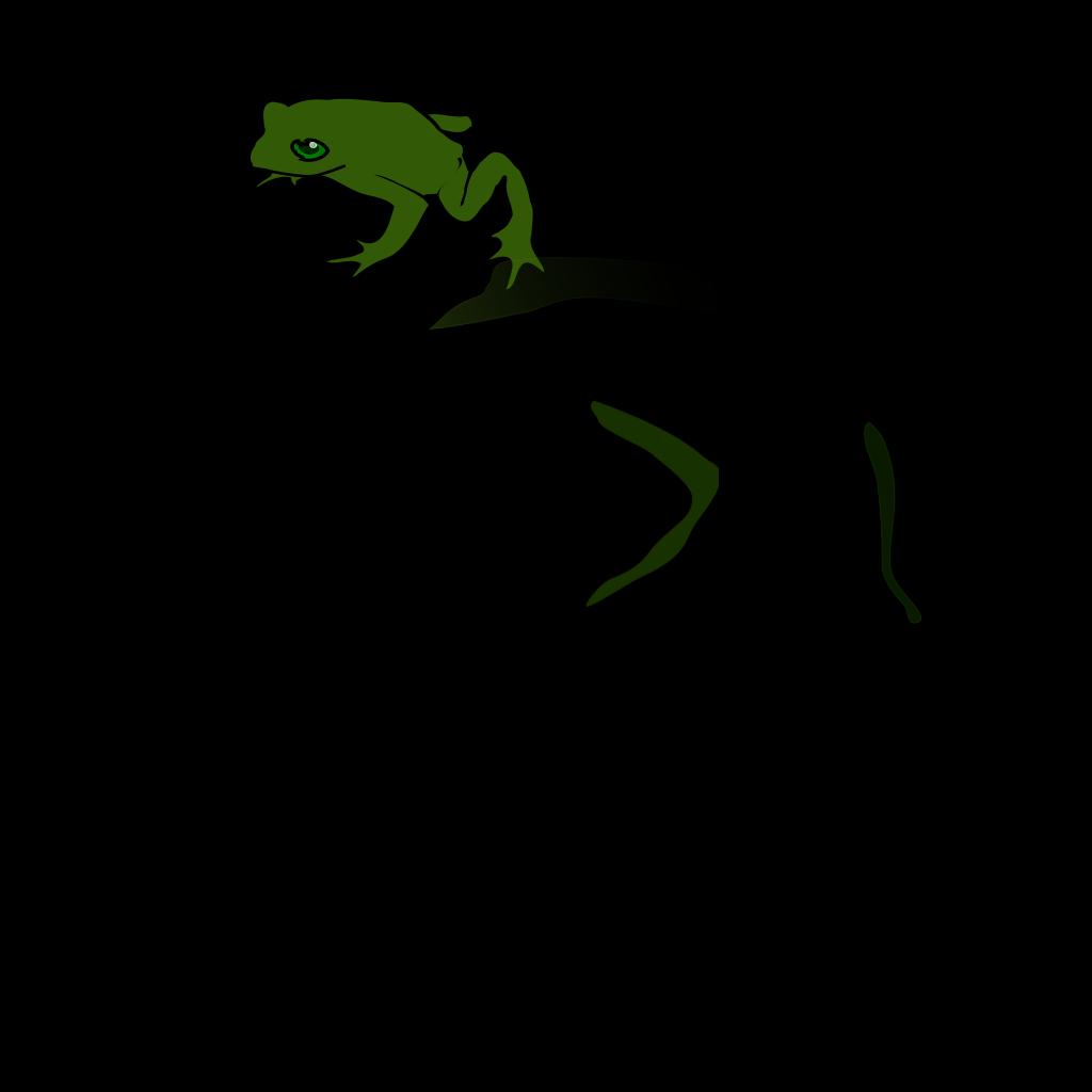 Frog 5 SVG Clip arts