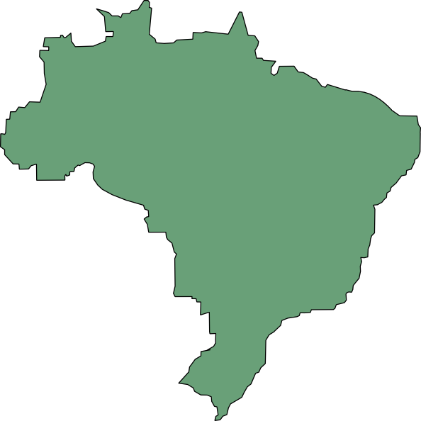 Brazil Flag SVG Clip arts