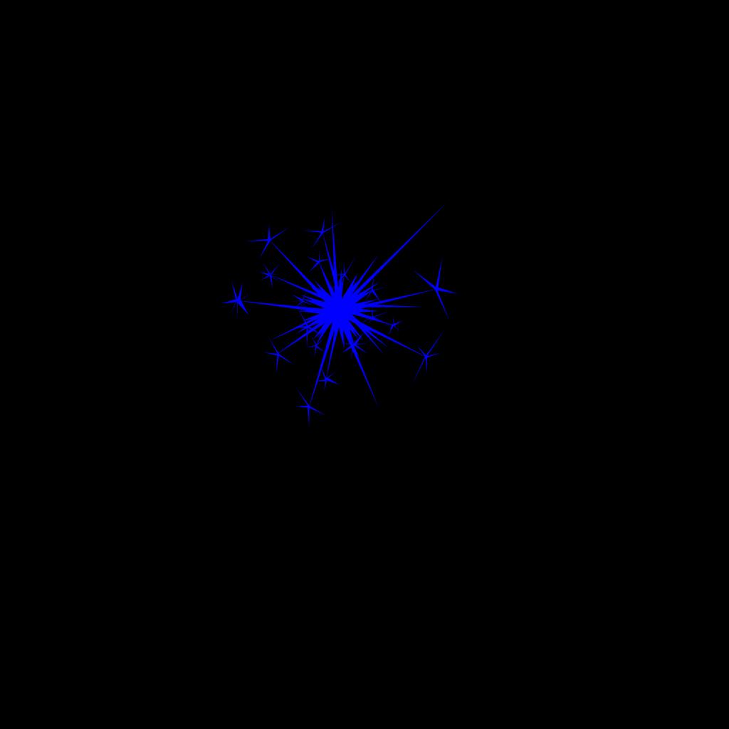 Shine Blue SVG Clip arts