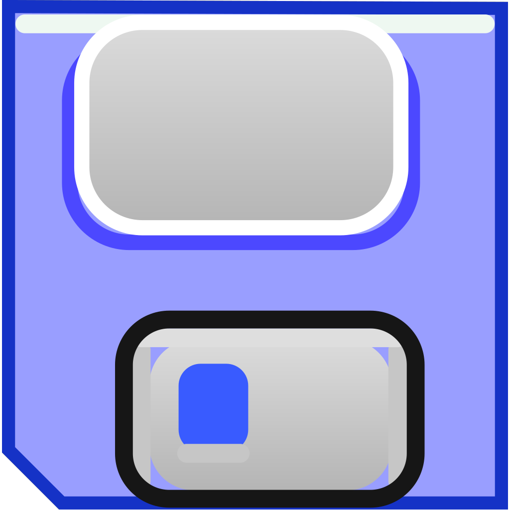 Floppy Disk Save SVG Clip arts