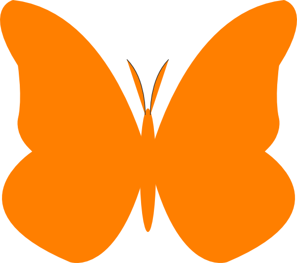 Bright Butterfly SVG Downloads - Animal - Download vector clip art ...