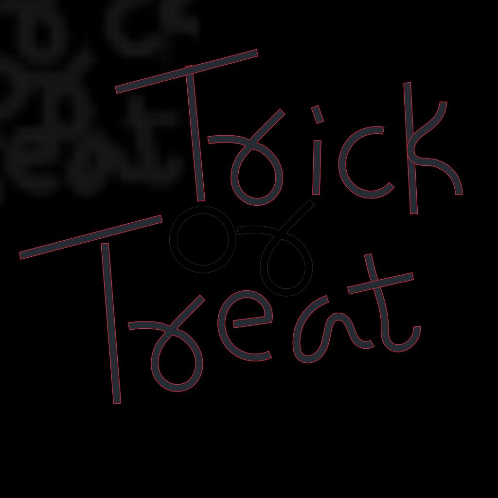 Trick Or Treat Bag SVG Clip arts