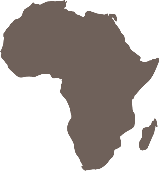 Africa Map Tanzania SVG Clip arts
