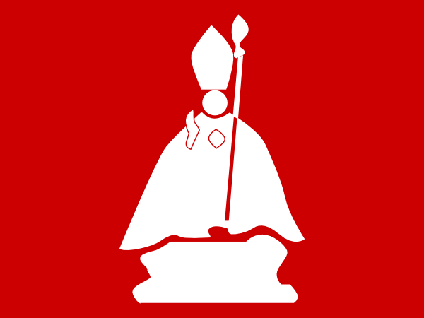 Priest With A Chainsaw SVG Clip arts