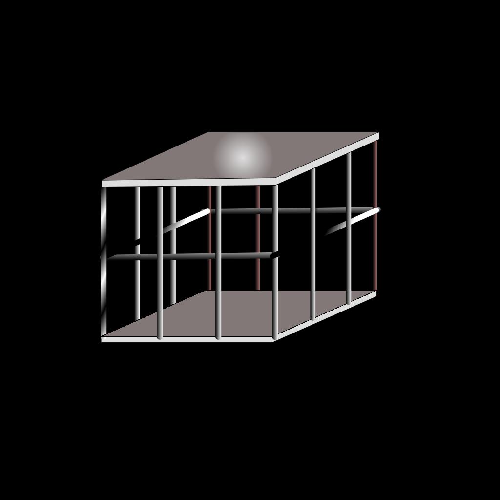 Metal Cage SVG Clip arts