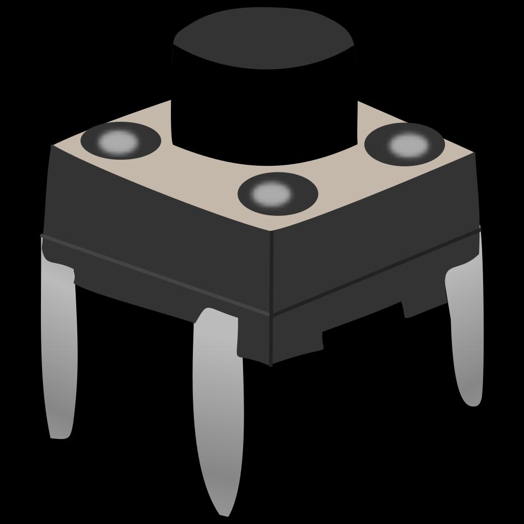Electronic Calliper / Button SVG Clip arts