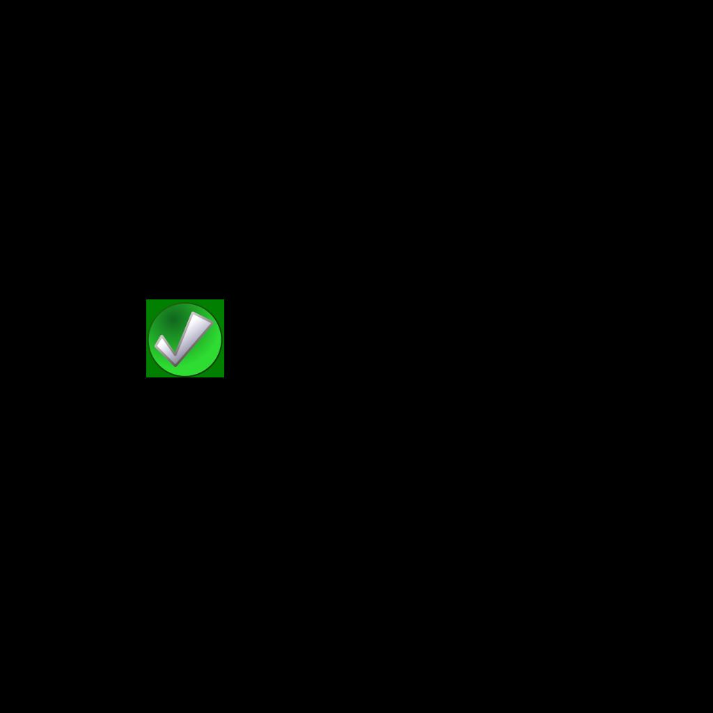 Blue Check Mark SVG Clip arts