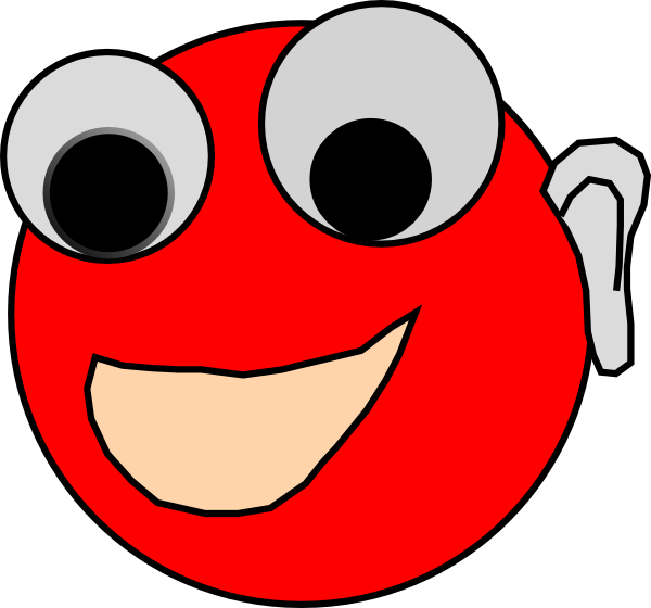 Happy Smiling Face SVG Clip arts