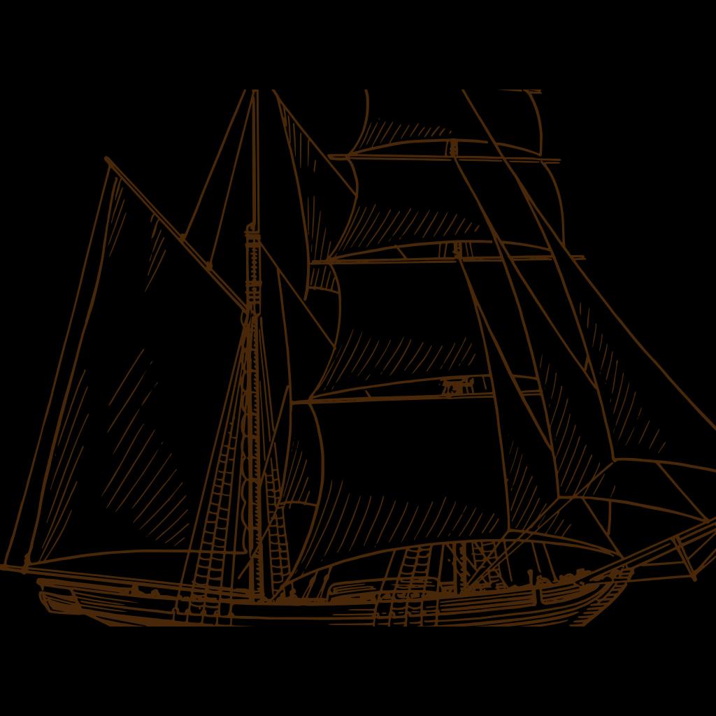 Sail Boat SVG Downloads - Cartoon - Download vector clip art online