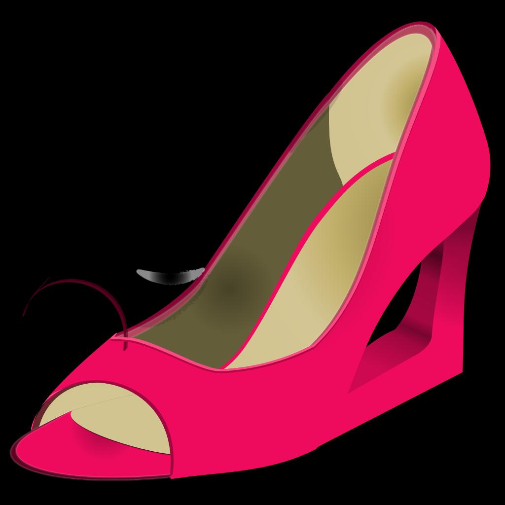High Heel Boots SVG Clip arts