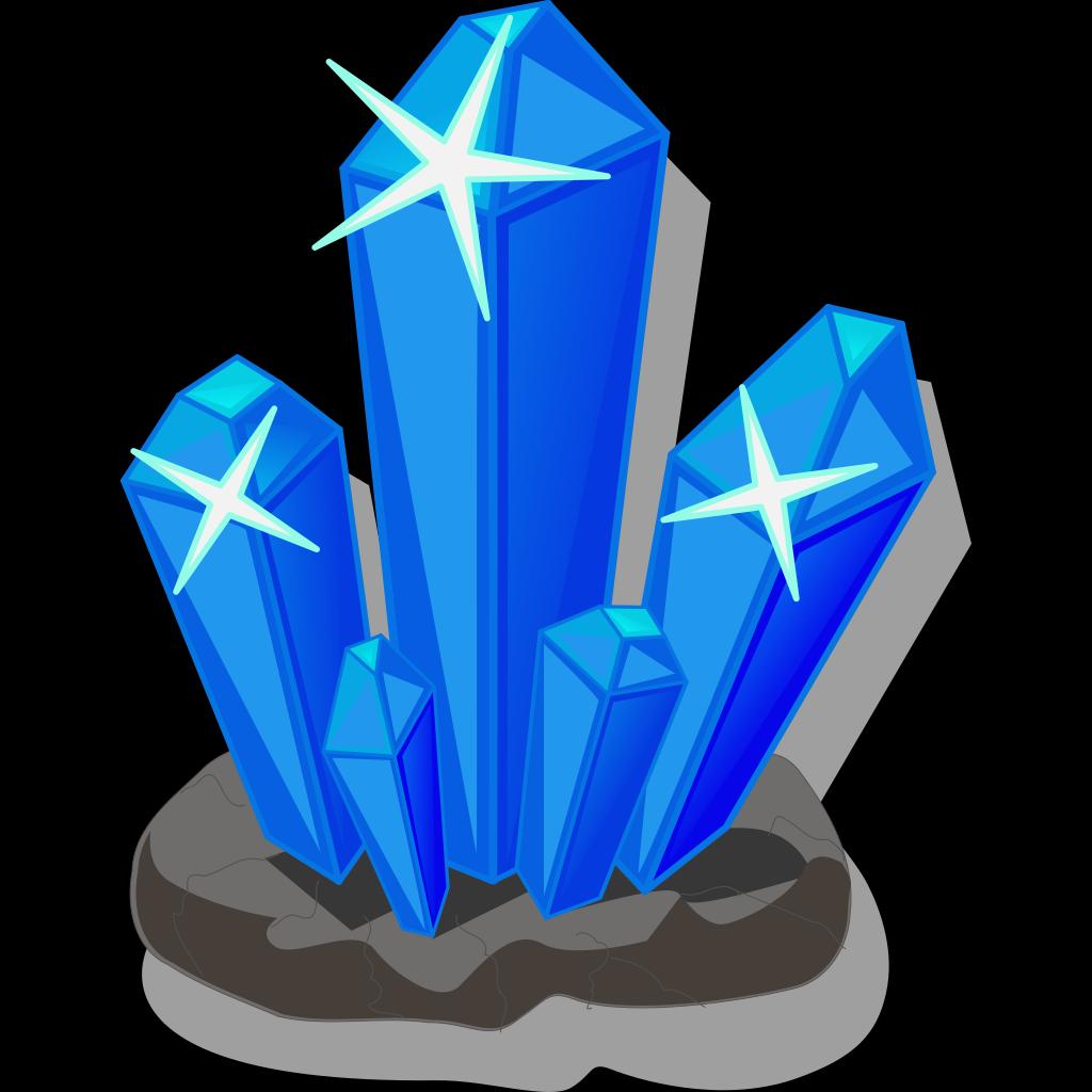 Crystals SVG Clip arts