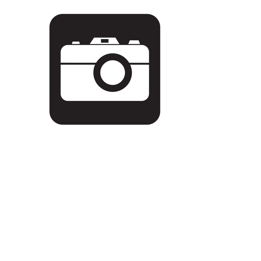 Camera White SVG Clip arts