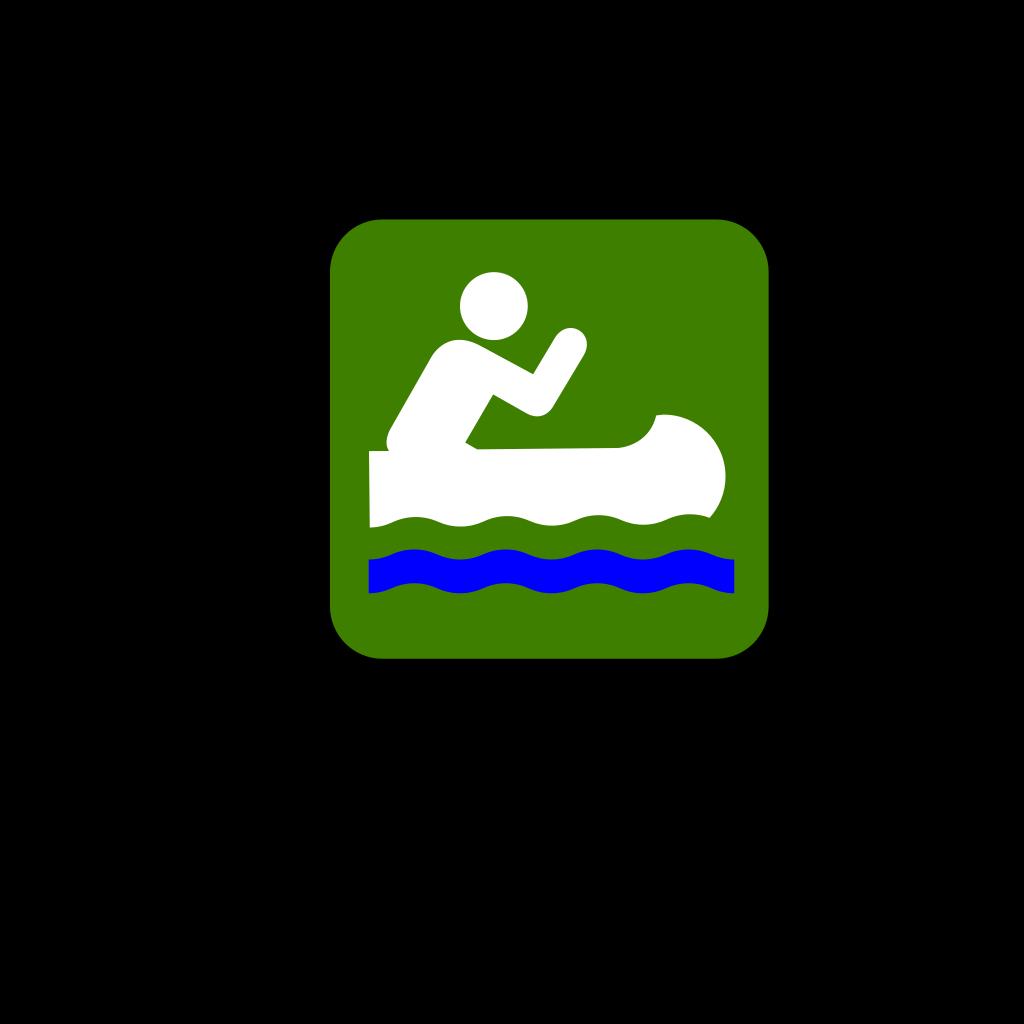 Canoeist SVG Clip arts