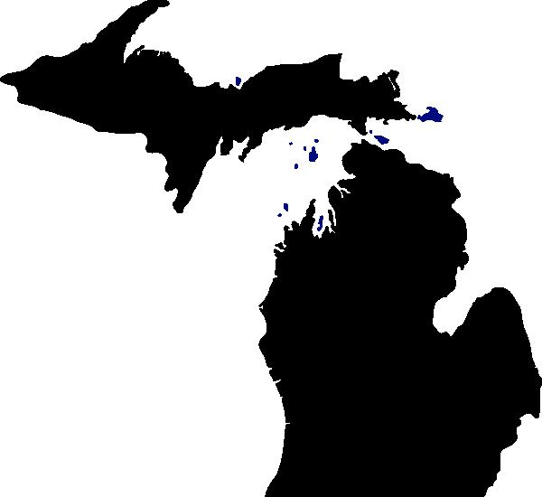 Michigan SVG Clip arts