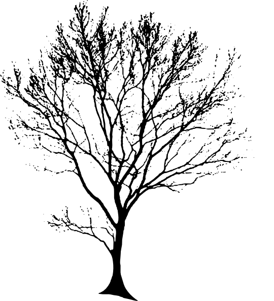 Simple Tree SVG Clip arts