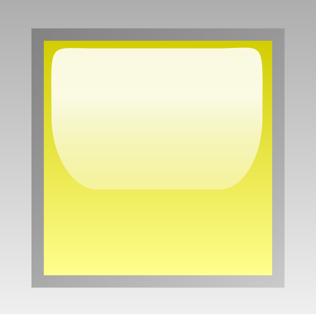Led Square Yellow SVG Clip arts