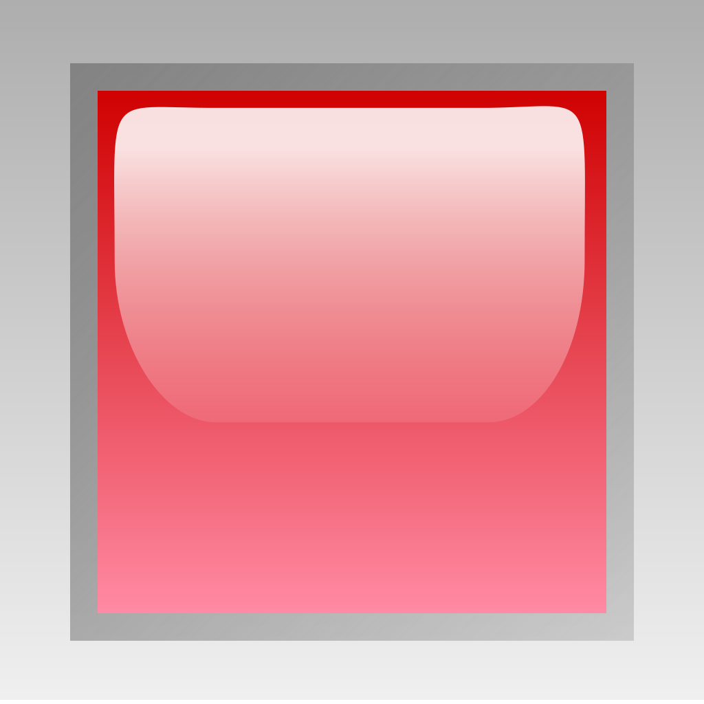 Led Square Red SVG Clip arts