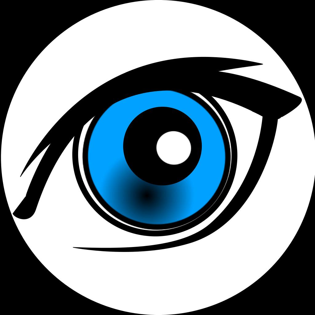 Cartoon Eye SVG Clip arts
