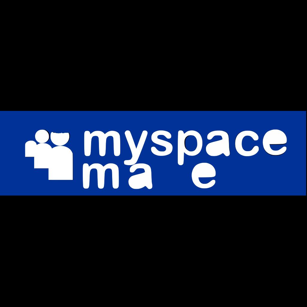 Myspace Maven SVG Clip arts