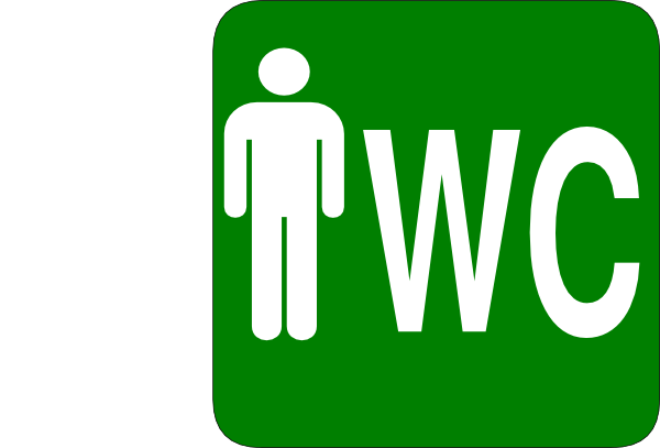 Toilet Signs SVG Clip arts