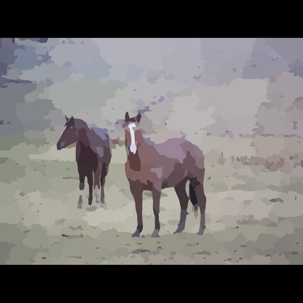 Horses SVG Clip arts