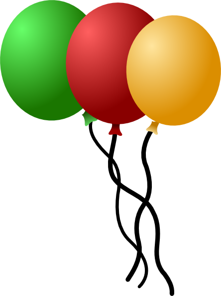 Balloons svg