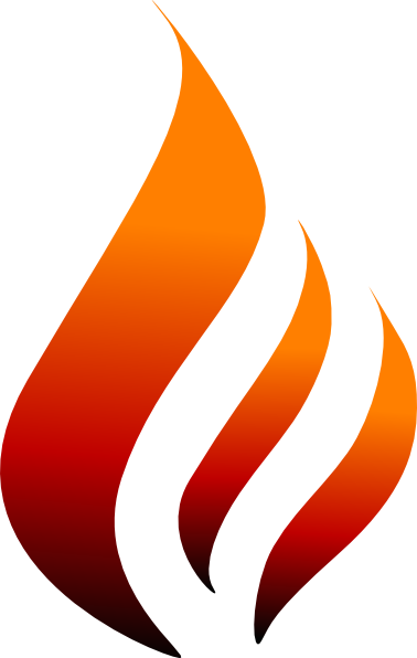 Flame Design SVG Clip arts