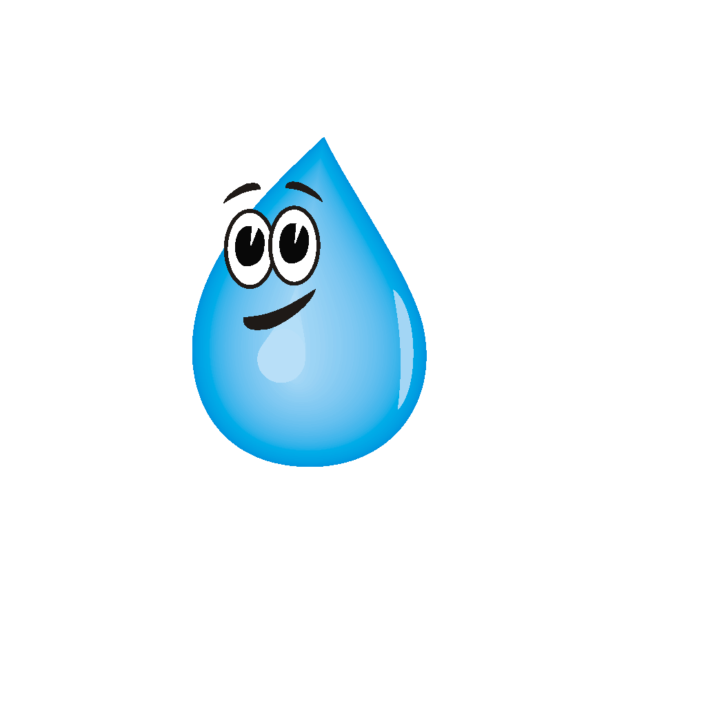 Water Droplets SVG Clip arts